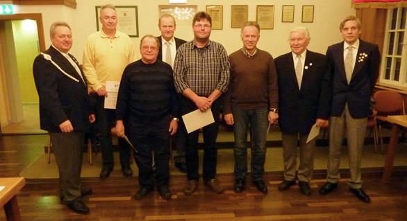 Jahreshauptversammlung der Kyffhäuser Kameraden Ratekau