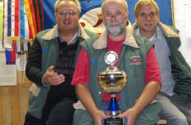 Die Kyffhäuser Kameradschaft Ratekau holt den Bürgermeister Pokal