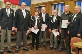 Jahreshauptversammlung der Kyffhäuser Kameradschaft Ratekau